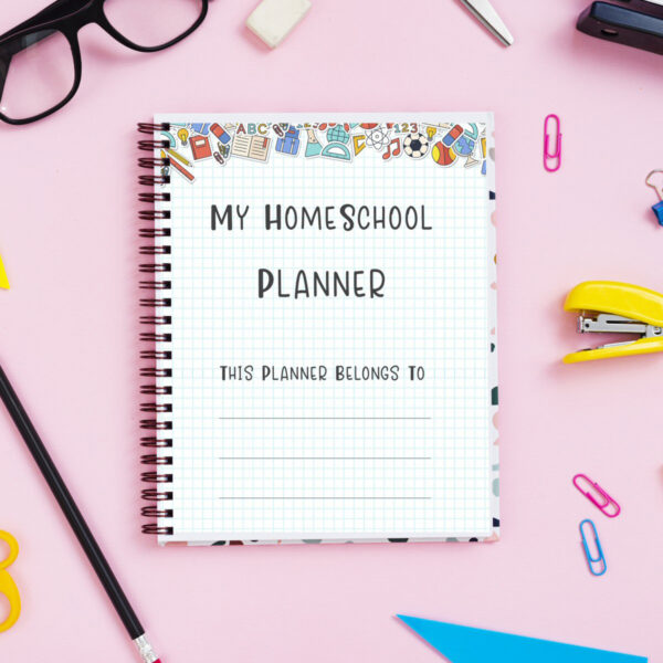 Homeschool Planner Printable Binder