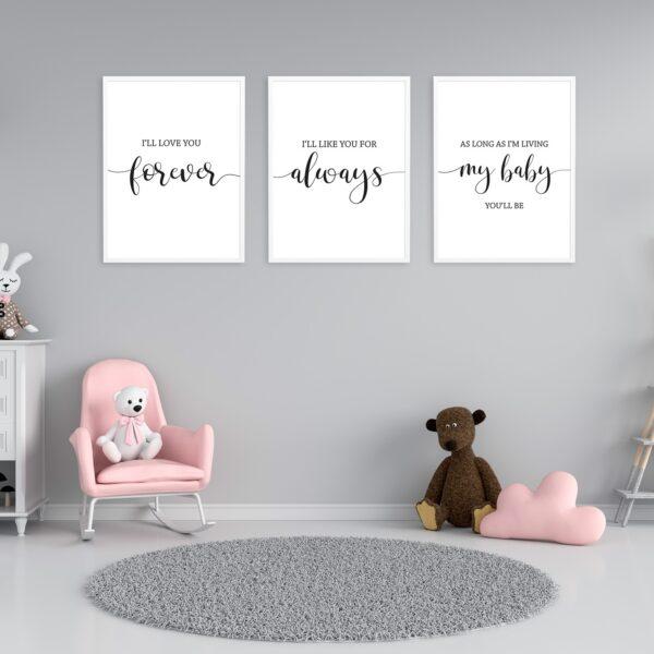 Printable Nursery Wall Art Decor