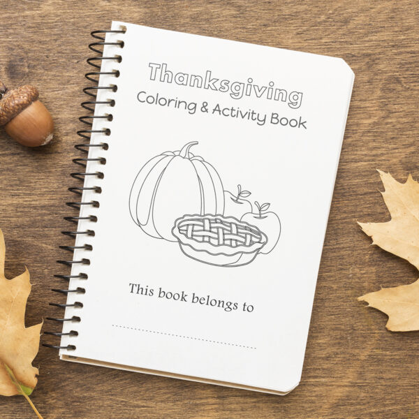 Thanksgiving Coloring Book Printable