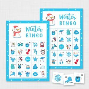 Printable Winter Bingo