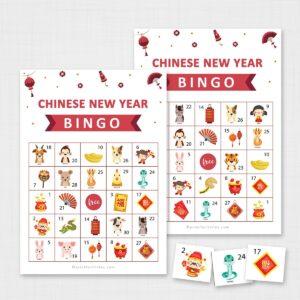 Printable Chinese New Year Bingo