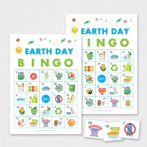 Printable Earth Day Bingo for Kids