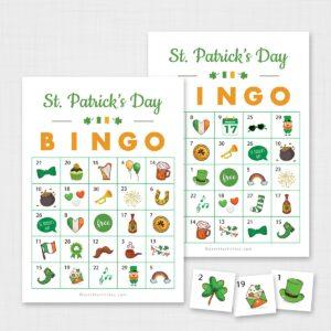 Printable St Patricks Day Bingo