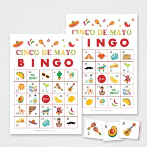 Printable Cinco De Mayo Bingo