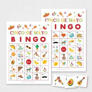 Printable Cinco De Mayo Bingo