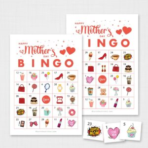 Mothers Day Bingo for Kids
