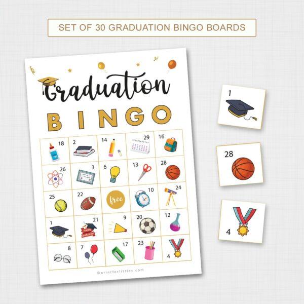 Graduation Bingo Printable