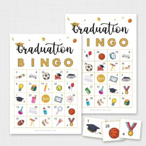 Printable Graduation Bingo
