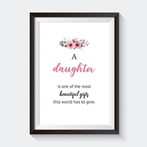 Most Beautiful Gifts Printable Wall Art